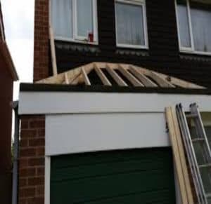 Garage Extension Roofing and Repairs